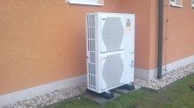 RD Chotěnice - tepelné čerpadlo vzduch voda
